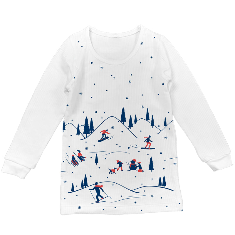 Snowbound Full Sleeve Thermal Top