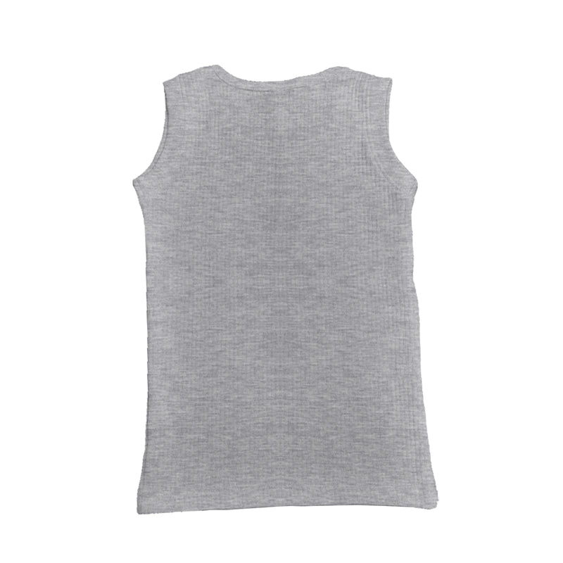 Santa Season - Girl Sleeveless Thermal Top