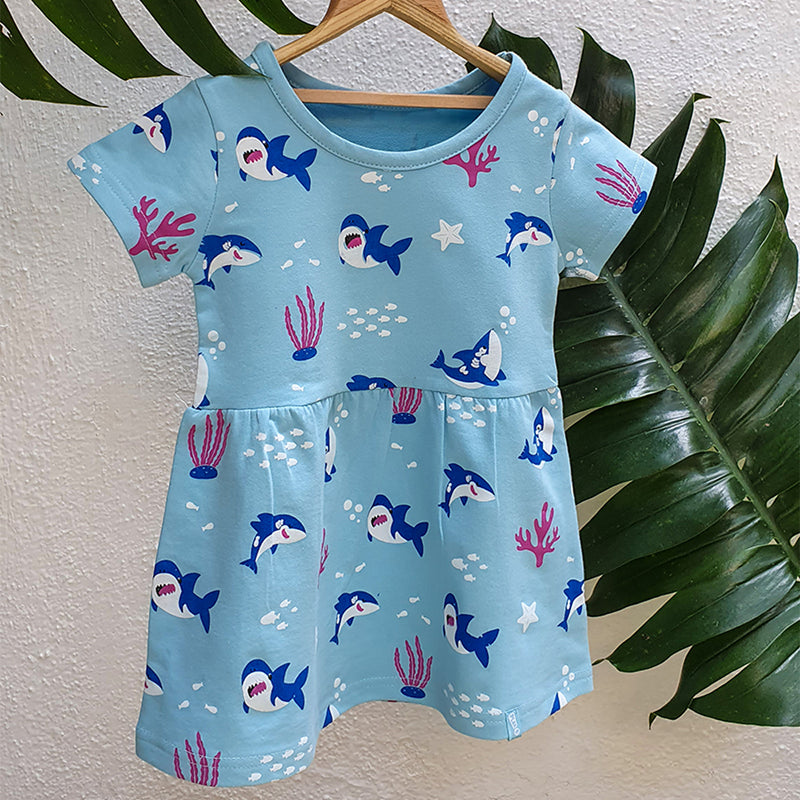 Baby Shark Winter Dress
