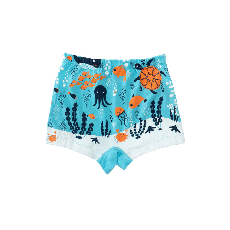 Mermaid - Girl Boxers