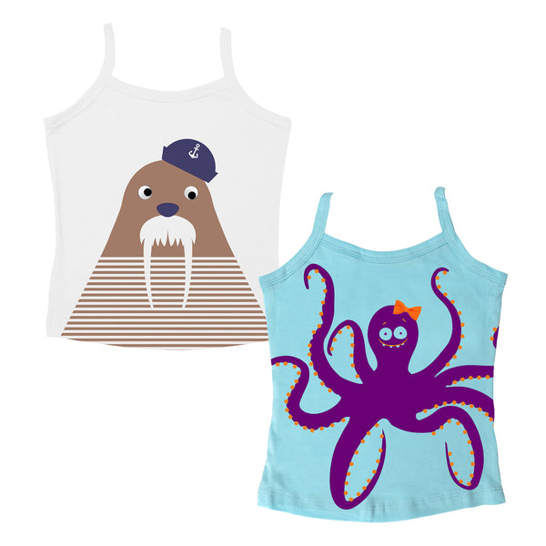 Nautical - Girl Vests