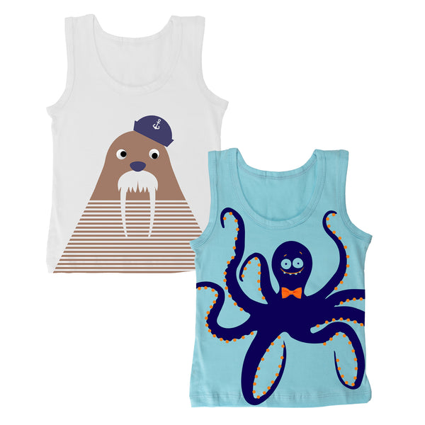 Nautical - Boy Vests