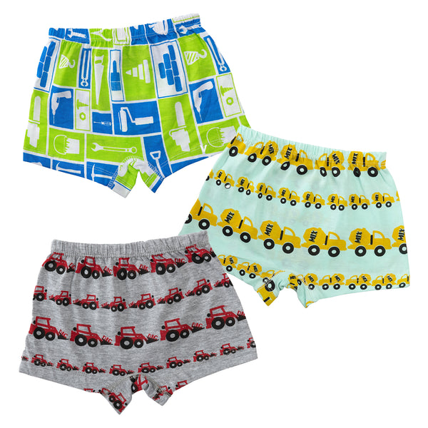 Under Construction - Boy Boxer Shorts