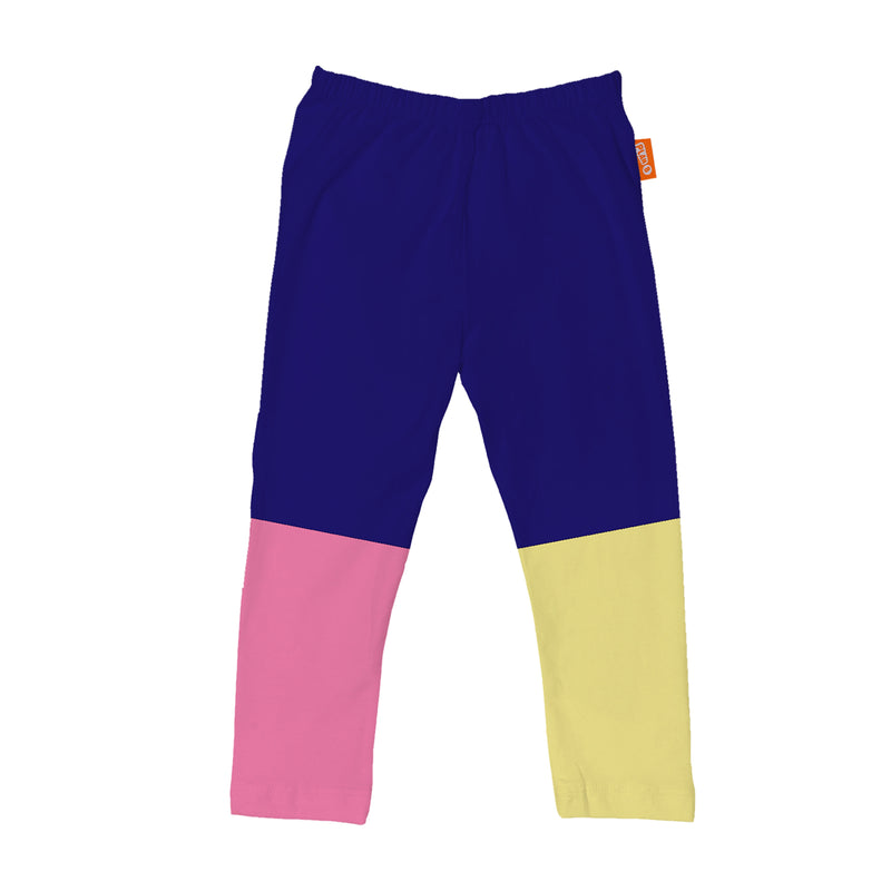 Colorblock Blue - Set of 2 Leggings