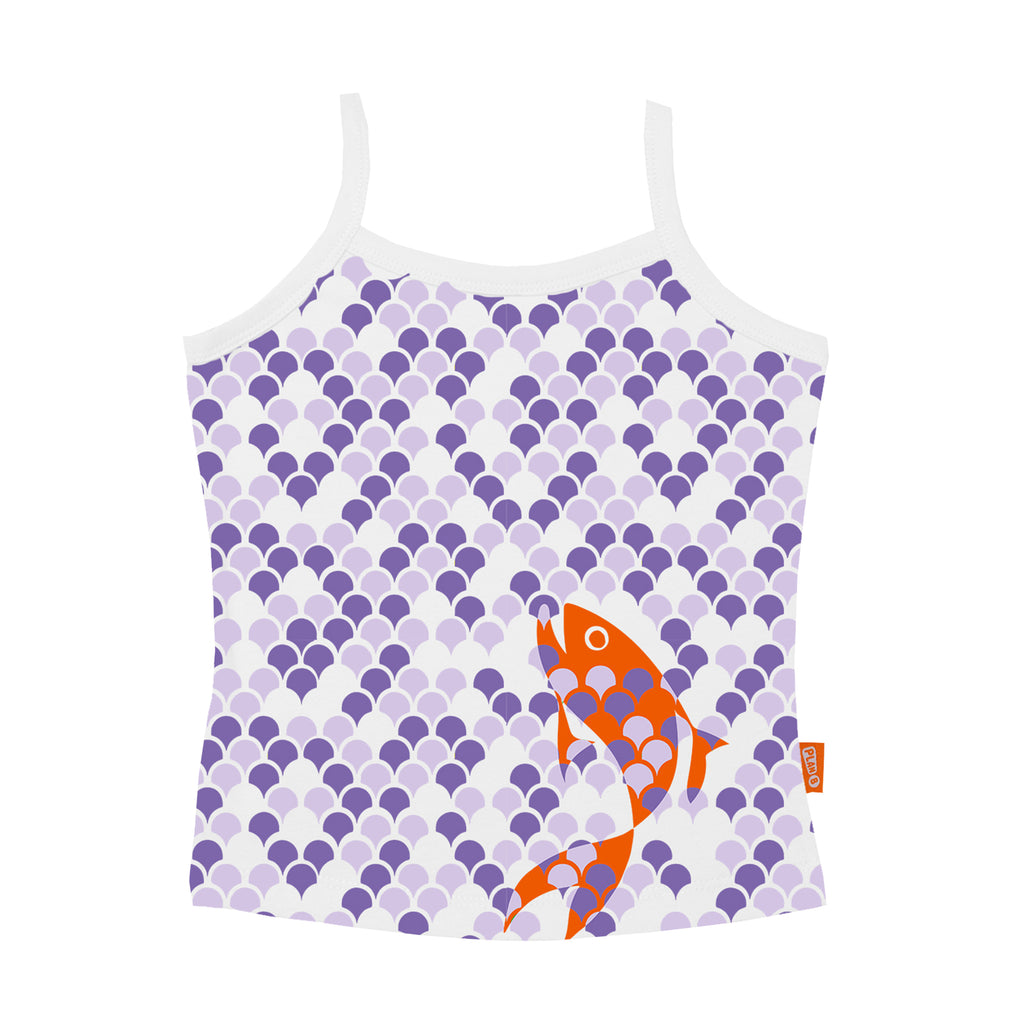 Fancy Fish - Girl Vest & Boxer Shorts