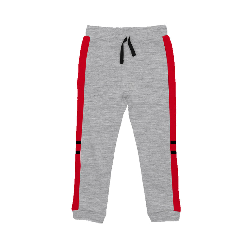 Two Stripe Grey - Girl Track Pants