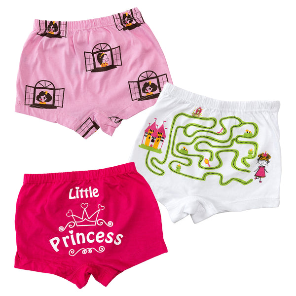 Peeping Princess - Girl Boxer Shorts