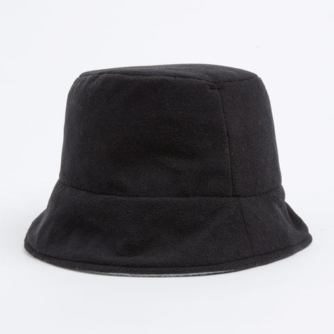 Bucket Hat - black/light grey