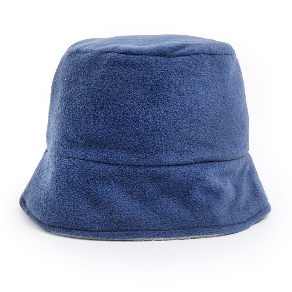 Bucket Hat - denim/light grey