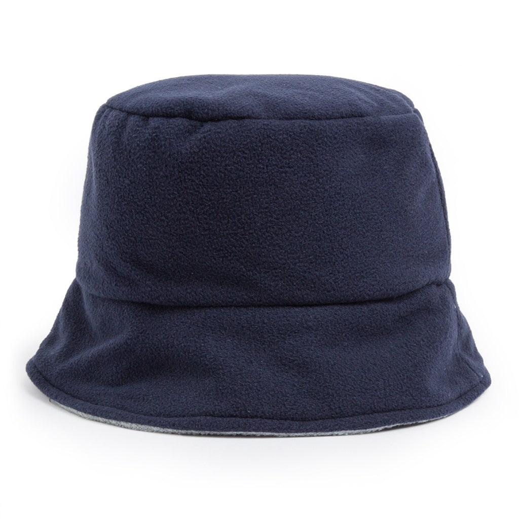 Bucket Hat - navy/light grey