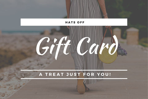 HATS OFF GIFT CARD