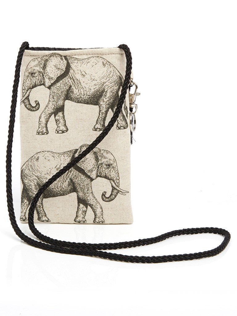 Beautiful and unique handmade neck pouch, which forms a part of the Elephant collection from Hats Off. Made in Cape Town, South Africa