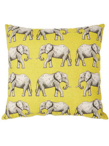 Quality elephant design cushion covers that will renew your living space.  Made in Cape Town South Africa