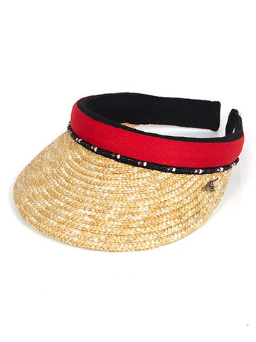 Red Straw Peak with Beads