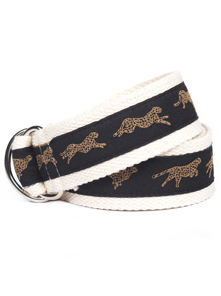 D-Ring Belt Cheetah