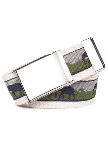 Buckle Belt Elephants