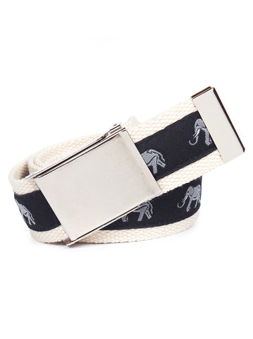 Buckle Belt Grey Elephant