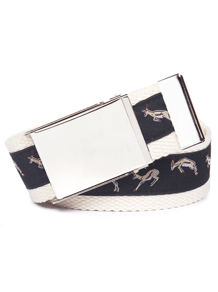 Buckle Belt Springbok
