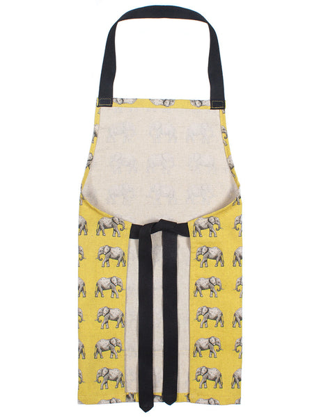 Apron - Mini elephants (kids)