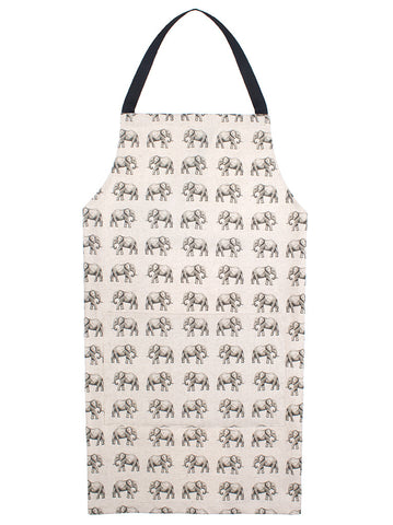 Apron - Mini elephants