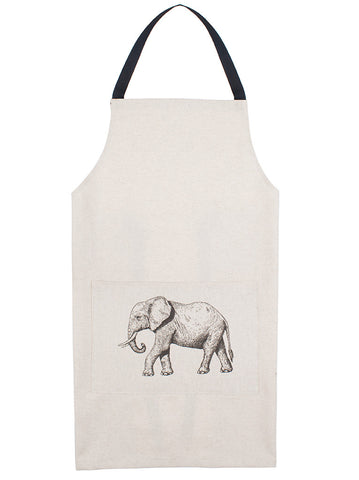Apron - Large elephant