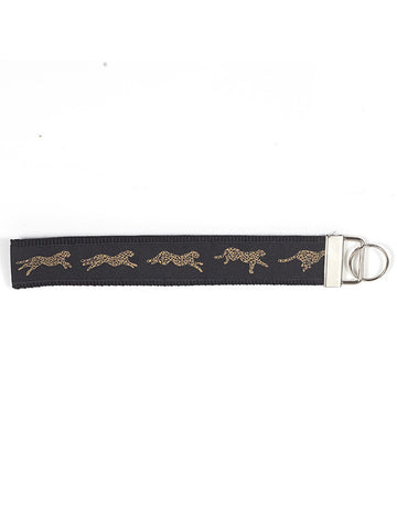 Wristlet Key Fob - Cheetah