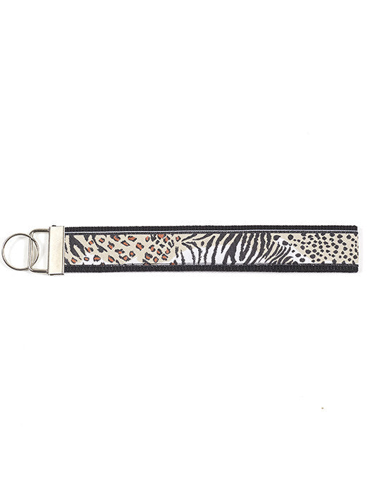 Wristlet Key Fob - Multi Animals