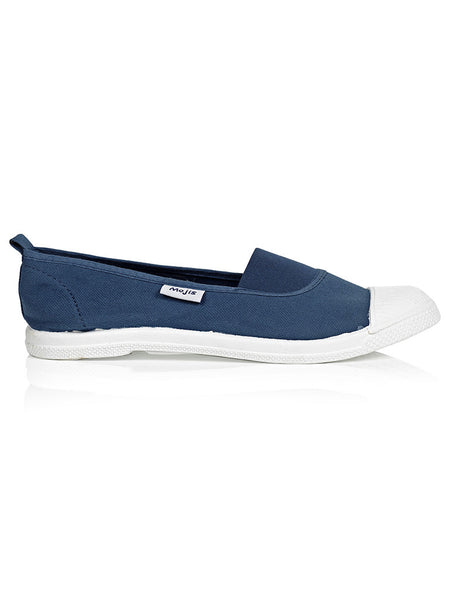 Denim Moji by Hats Off. A fashionable and comfortable ladies canvas slip on shoe available in Cape Town, South Africa.