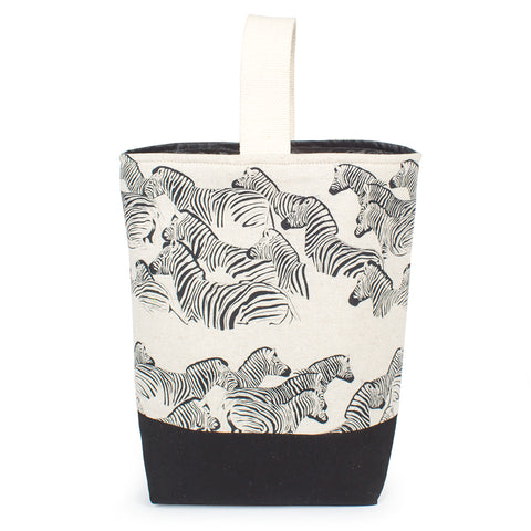 Double Wine Carrier - Zebra