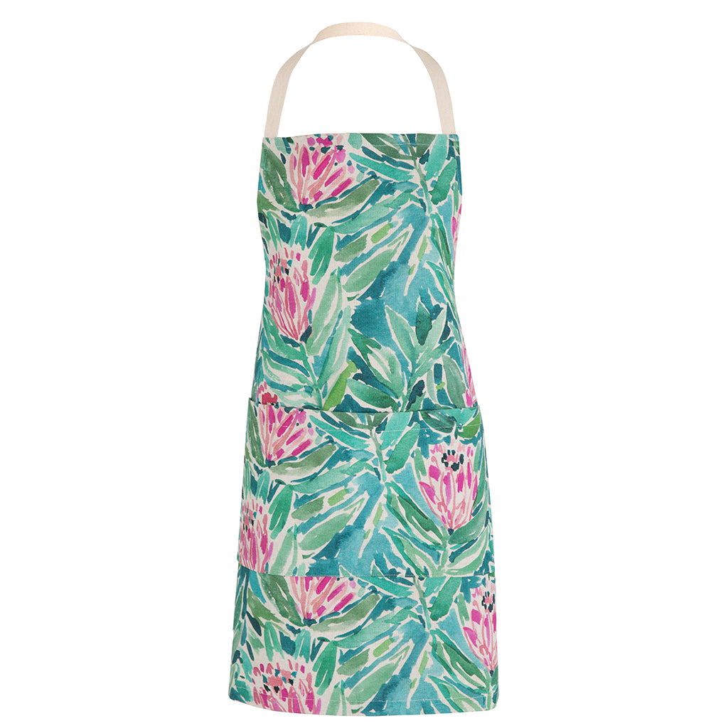 Apron - Watercolour Protea