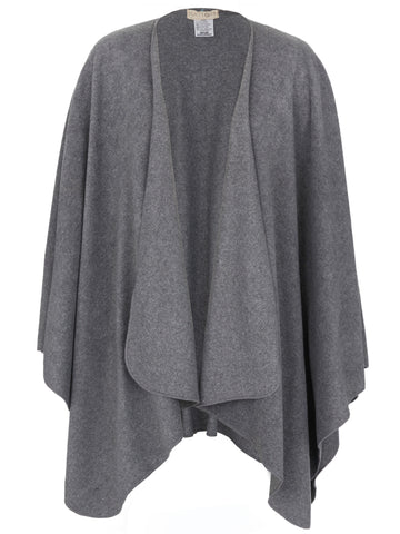 Dark Grey Travel Cape