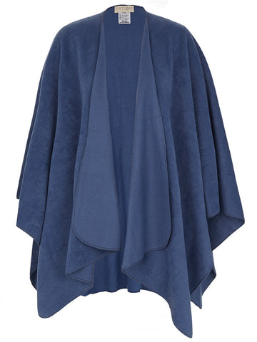 Denim Travel Cape