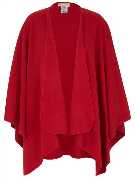 Red Travel Cape