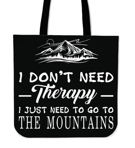 The Mountains Tote Bag A