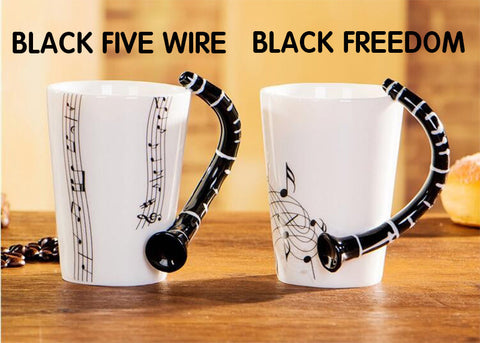 Musical Instrument Ceramic Mug