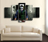 HD Printed The Joker Art 5 Piece Canvas B
