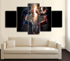HD Printed Civil War - Captain America vs Iron Man Piece Canvas