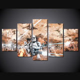 HD Printed Star Wars Movies 5 Piece Canvas B