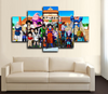 HD PRINTED CARTOON DRAGON BALL GROUP CANVAS PRINT