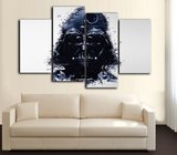 HD Printed Star Wars - DARTH VADER 4 Piece Canvas