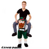 New Mascot Unisex Bavarian Oktoberfest Piggy Back Carry Me