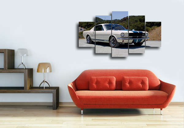 Hd Printed Car Painting Poster Picture Canvas