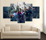 HD Printed The Avengers 5 Piece Canvas