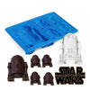 1pc Super Star Wars Ice Tray Silicone Mold Ice Cube Tray Han Solo Ice Tray Mold Cookies Chocolate Soap DIY Kitchen BakingTool