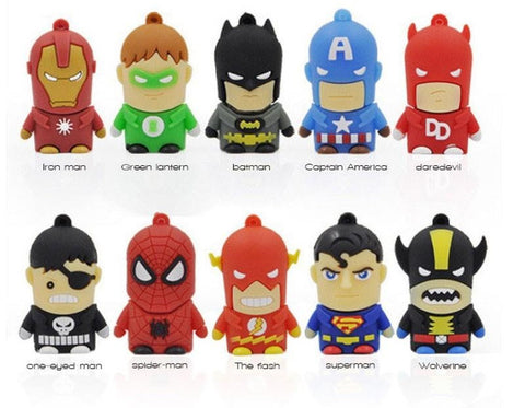 Usb flash drive Avenger Super Hero USB stick cute mini 4G 8G 16G 32GB
