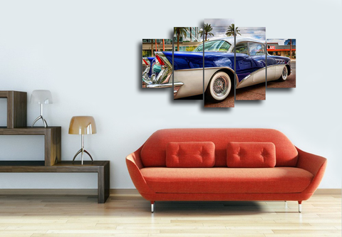 Hd Printed Buick 58 Special Retro Canvas