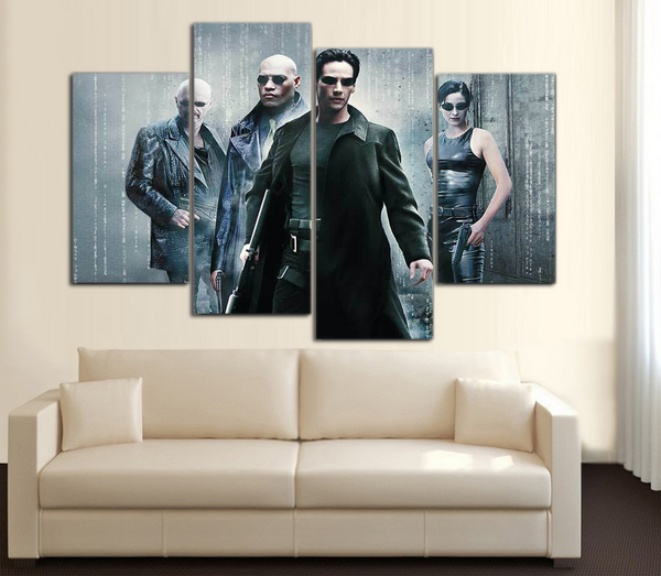 HD Printed Matrix 5 Piece Canvas
