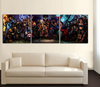 HD Printed HEROES 5 Piece Canvas