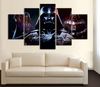 HD Printed Star Wars - Darth Vader 5 Piece Canvas