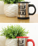 Self Stirring Coffee Mug Double Insulated Coffee Cup 400 ML Automatic Electric Coffee Cups Smart Mugs Mixing Coffee Cup